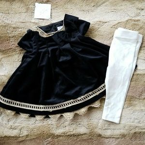 Baby velvet outfit *NEW*